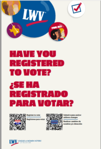 Have your registered to vote?